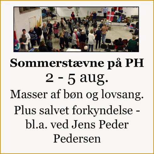 Sommerstævne PH 2018